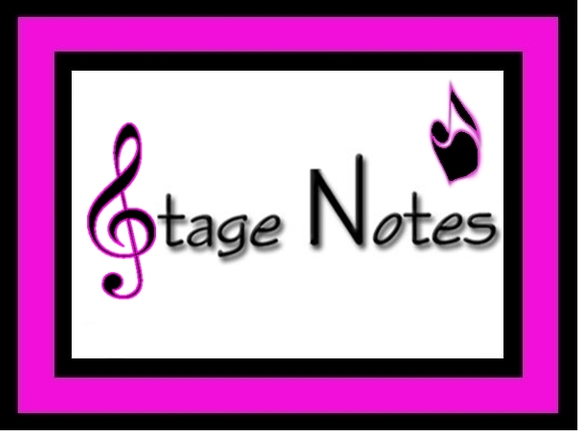 Stage Notes